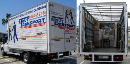 location camion demenagement